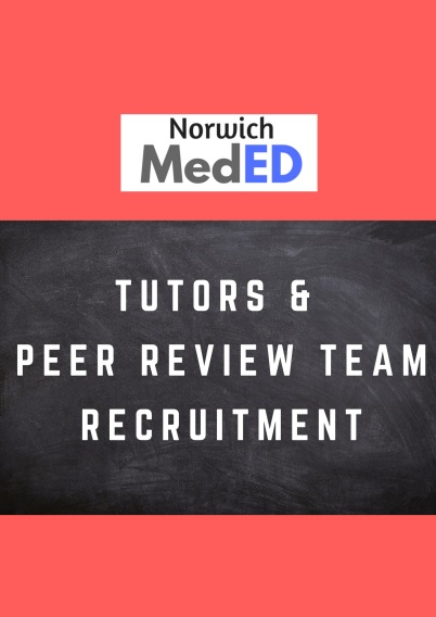 TUTORS and PEER-REVIEW TEAM RECRUITMENT